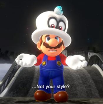 Super Mario Odyssey Funny Tv Tropes