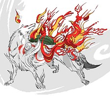 http://static.tvtropes.org/pmwiki/pub/images/okami_on_fire.jpg