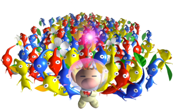 https://static.tvtropes.org/pmwiki/pub/images/olimar_and_many_pikmin.png