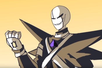 Gaster Vs Chara 2 Player