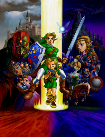 Blackjack Rants Reviewing Monsters The Legend Of Zelda Ocarina Of Time