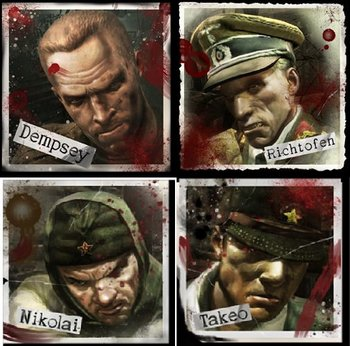 Call Of Duty Zombies Ultimis And Primis Characters Tv Tropes
