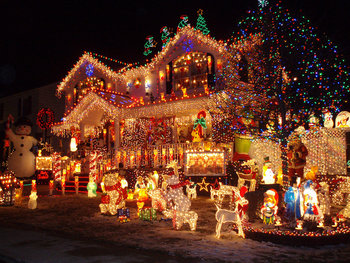 over the top christmas decorations tv tropes - Over The Top Christmas Decorations