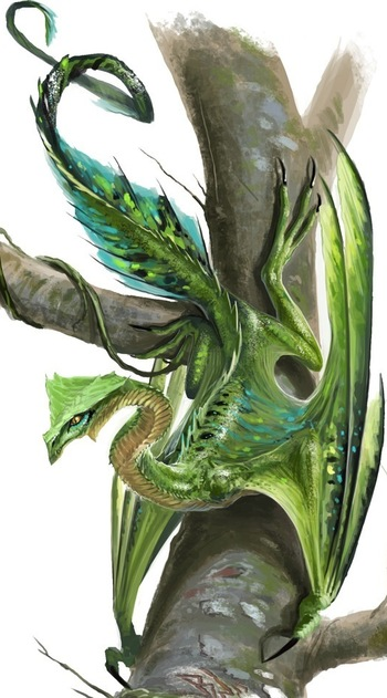 Pathfinder Dragons / Characters - TV Tropes