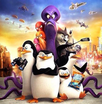 Penguins of Madagascar Western Animation TV Tropes