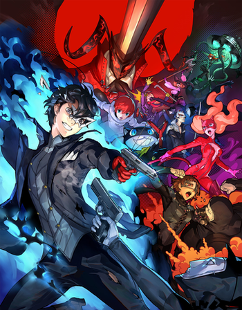 Persona 5 Scramble The Phantom Strikers Video Game Tv Tropes