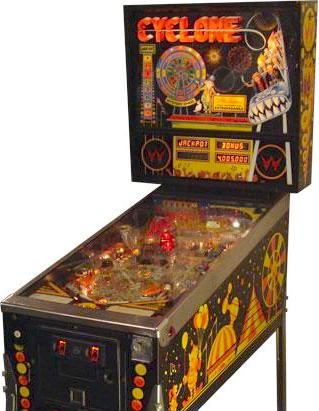 Cyclone (Pinball) - TV Tropes