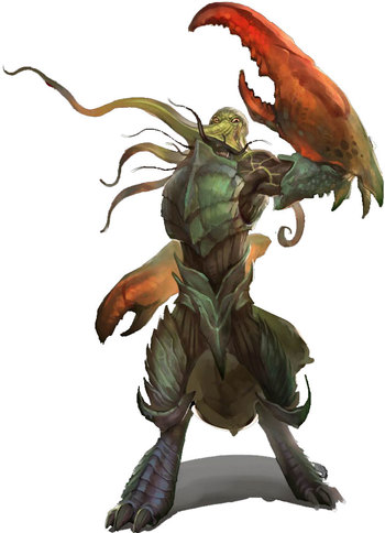 Pathfinder Outsiders: Lower Planes / Characters - TV Tropes