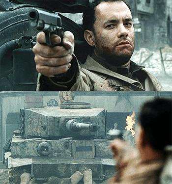https://static.tvtropes.org/pmwiki/pub/images/pistol_versus_tank.png