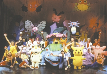 Pokémon Live! (Theatre) - TV Tropes