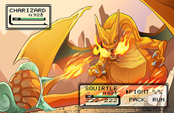 http://static.tvtropes.org/pmwiki/pub/images/pokemon-charizard-vs-squirtle-art-by-luis-santiago_8980.png