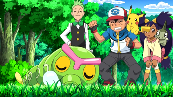 pokemon satoshi and butter free until we meet again