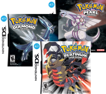 pok mon diamond and pearl video game tv tropes rh tvtropes org Pokemon Chapter Books Pokemon Chapter Books