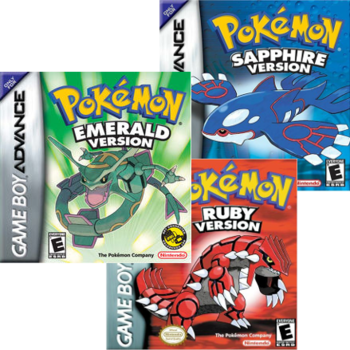 Pokémon Ruby and Sapphire (Video Game) - TV Tropes