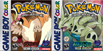 Pokémon Brown and Prism (Video Game) - TV Tropes