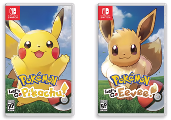 Pokémon Lets Go Pikachu And Lets Go Eevee Video Game Tv Tropes