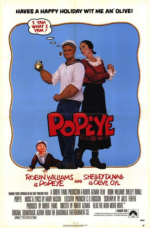 an analysis of auteurism in the cartoon popeye by robert altman Film remakes is the first book to provide a comprehensive and systematic account of the phenomenon of cinematic remaking drawing upon recent theories of genre and.