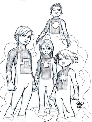 Power Pack Comic Book Tv Tropes