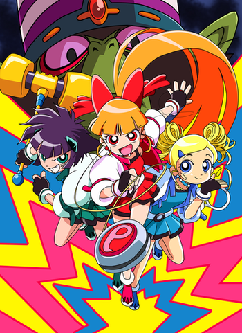 Powerpuff Girls Z Anime Tv Tropes How not to summon a demon king in regards to the mmorpg cross reverie, sakamoto takuma boasted an overwhelming strength that was enough for him to be called the demon king by the other players. powerpuff girls z anime tv tropes