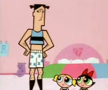 That Powerpuff girls all grown up naked
