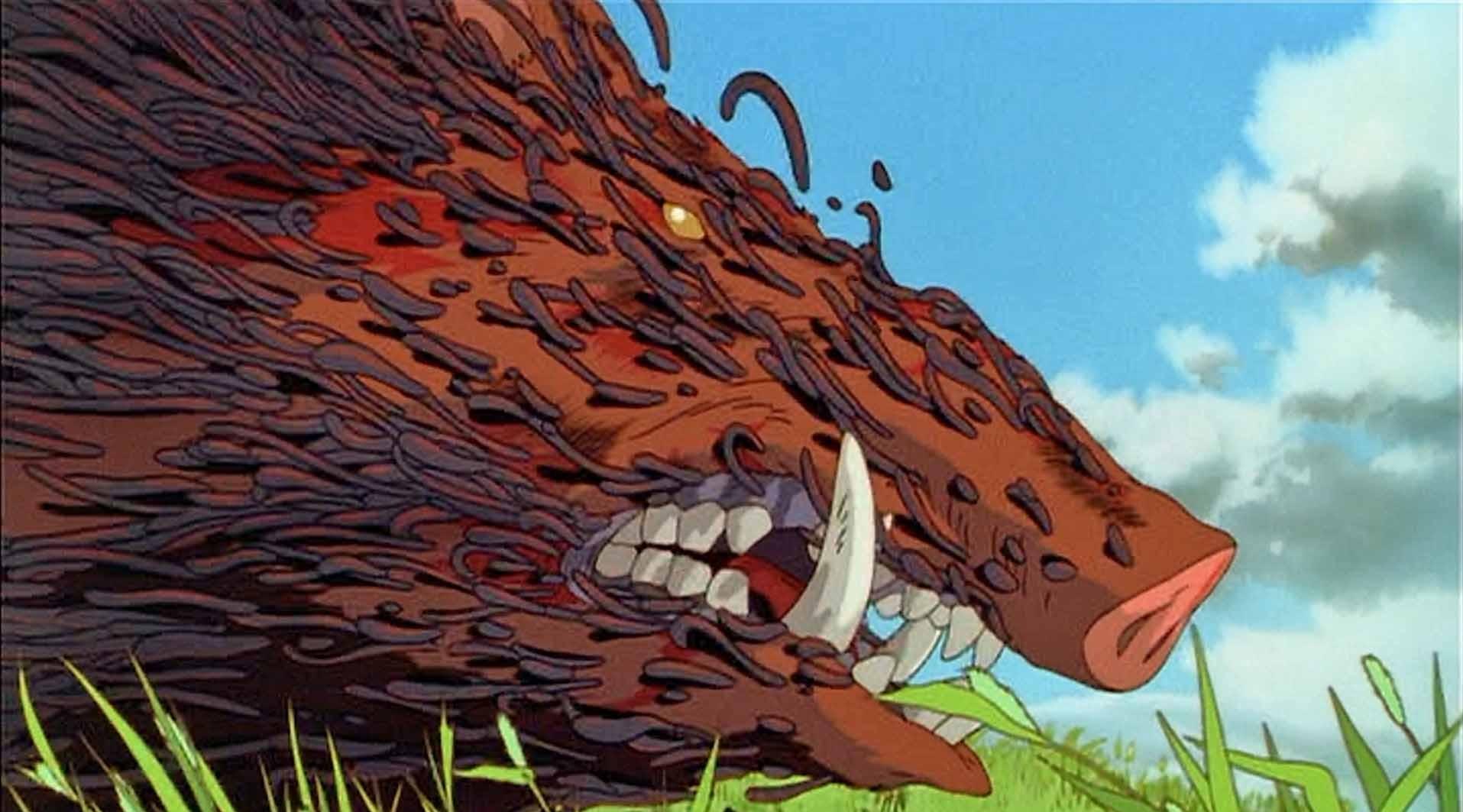 princess mononoke nightmare fuel tv tropes
