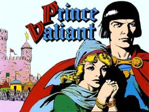 Can recommend comic image prince strip valiant