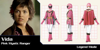 Seal is hookup the pink power ranger