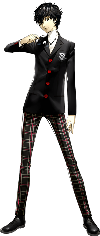 Persona 5 Joker Characters Tv Tropes