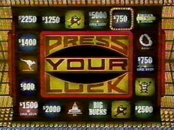Big bucks, no Whammies, STOP! Press Your Luck game coming ...