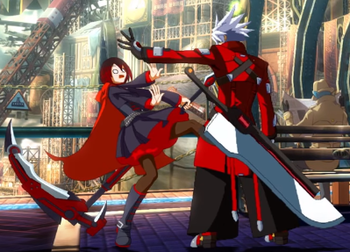 Blaz Blue Cross Tag Battle Character Interactions / Funny - TV Tropes