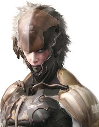 Metal Gear Rising Revengeance Raiden White Armor Version