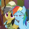 https://static.tvtropes.org/pmwiki/pub/images/rainbow_puts_a_wing_around_daring_do_s6e13.png