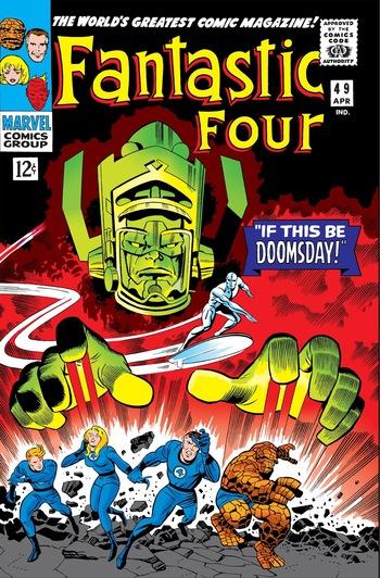The Coming Of Galactus Comic Book Tv Tropes