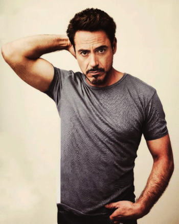 Strange Robert Downey Jr Creator Tv Tropes Hairstyles For Women Draintrainus