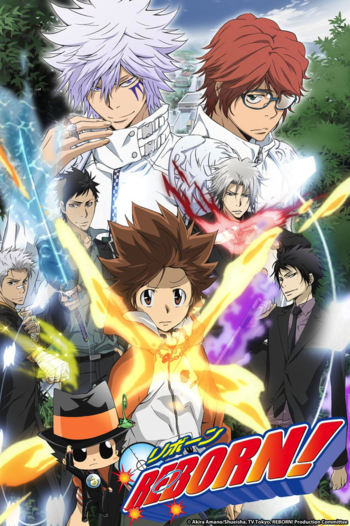 Katekyō Hitman Reborn Manga Tv Tropes
