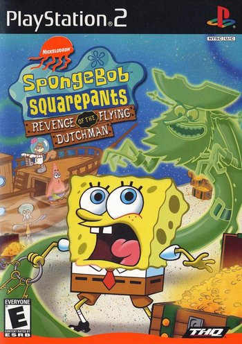 spongebob squarepants revenge of the flying dutchman