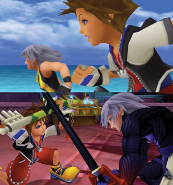 Riku and Sora Rivalry