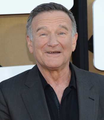Agree with robin williams beard are