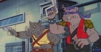 http://static.tvtropes.org/pmwiki/pub/images/rocksteady_bebop_cartoon_laser_pistols.jpg