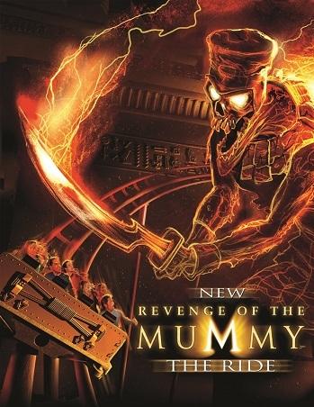 Revenge of the Mummy (Ride) - TV Tropes