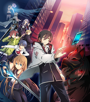 Used Tokyo Xanadu Official Visual Collection Japan Game Illustration Art Book PS