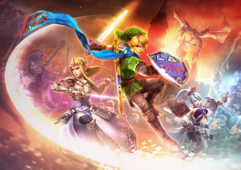 Hyrule Warriors Video Game Tv Tropes