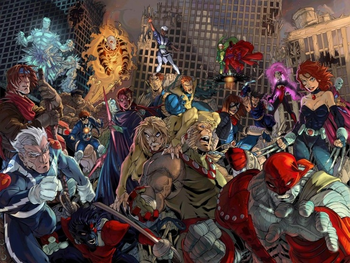 Age of Apocalypse (Comic Book) - TV Tropes