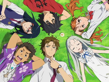 Anime Anohana The Flower We Saw That Day