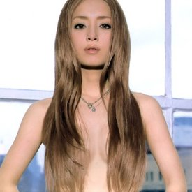 Nude haired Extremely long