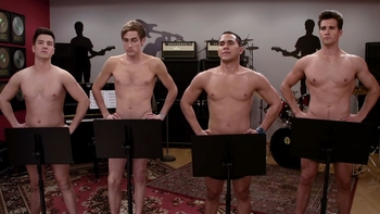 Naked boys of btr