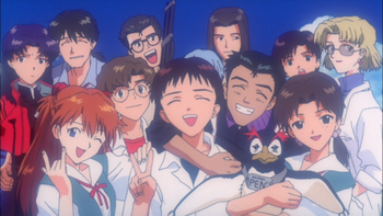 Image result for Evangelion supporting cast