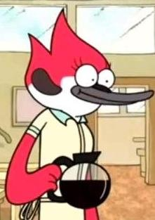Boobs Margaret Naked From Regular Show Png