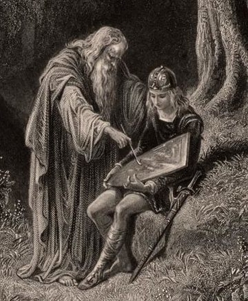 "mentor archetype And since athena is the goddess of wisdom, the mentor archetype is also typically personified as the ""wise old man"" or ""wise old woman"" which is probably why most of the mentor archetypes you see in media are wizened old men or women."