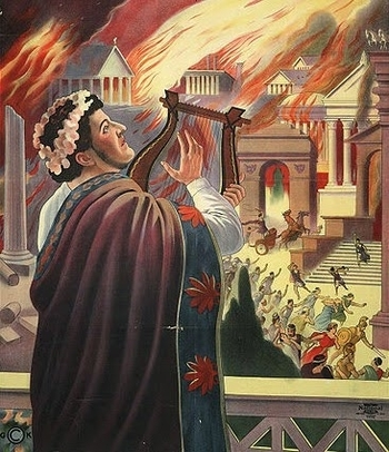 Did Nero Fiddle While Rome Burned